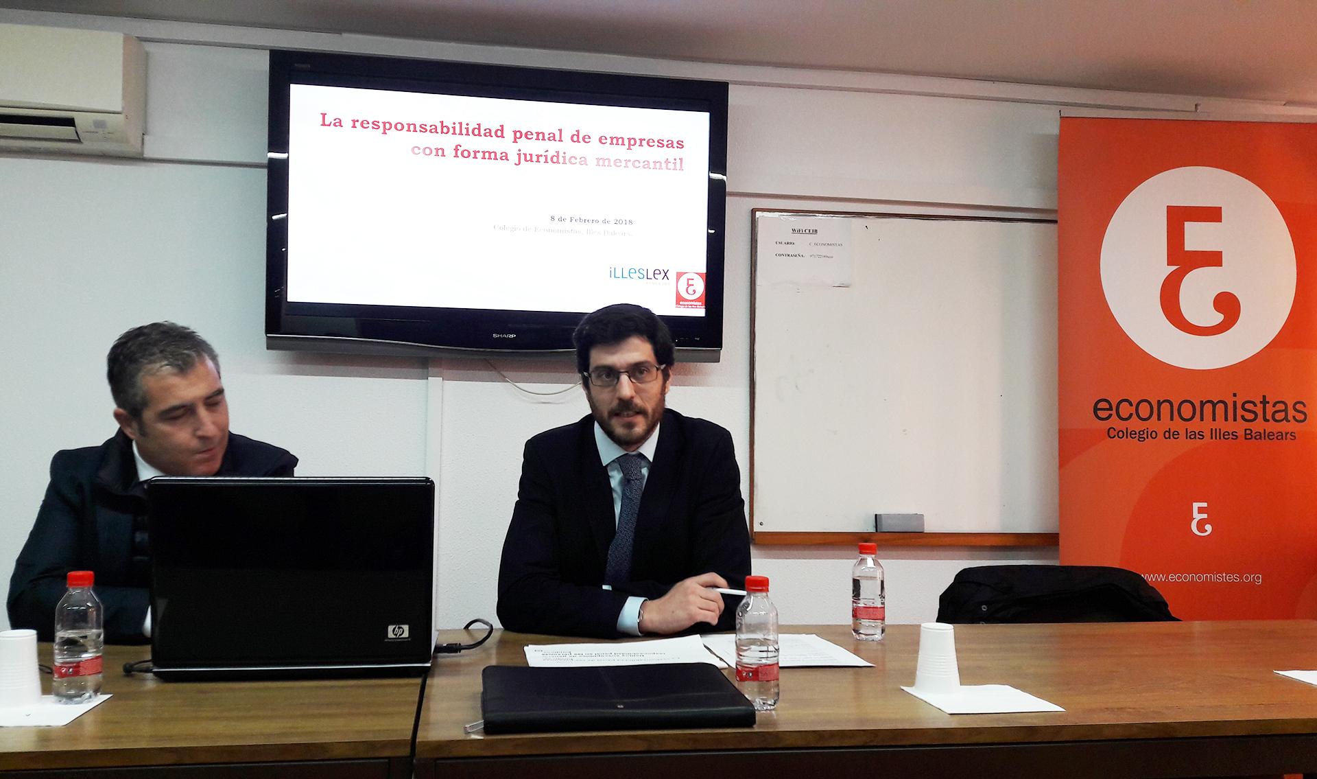 """""""El economista ante el reto del compliance penal"""""""