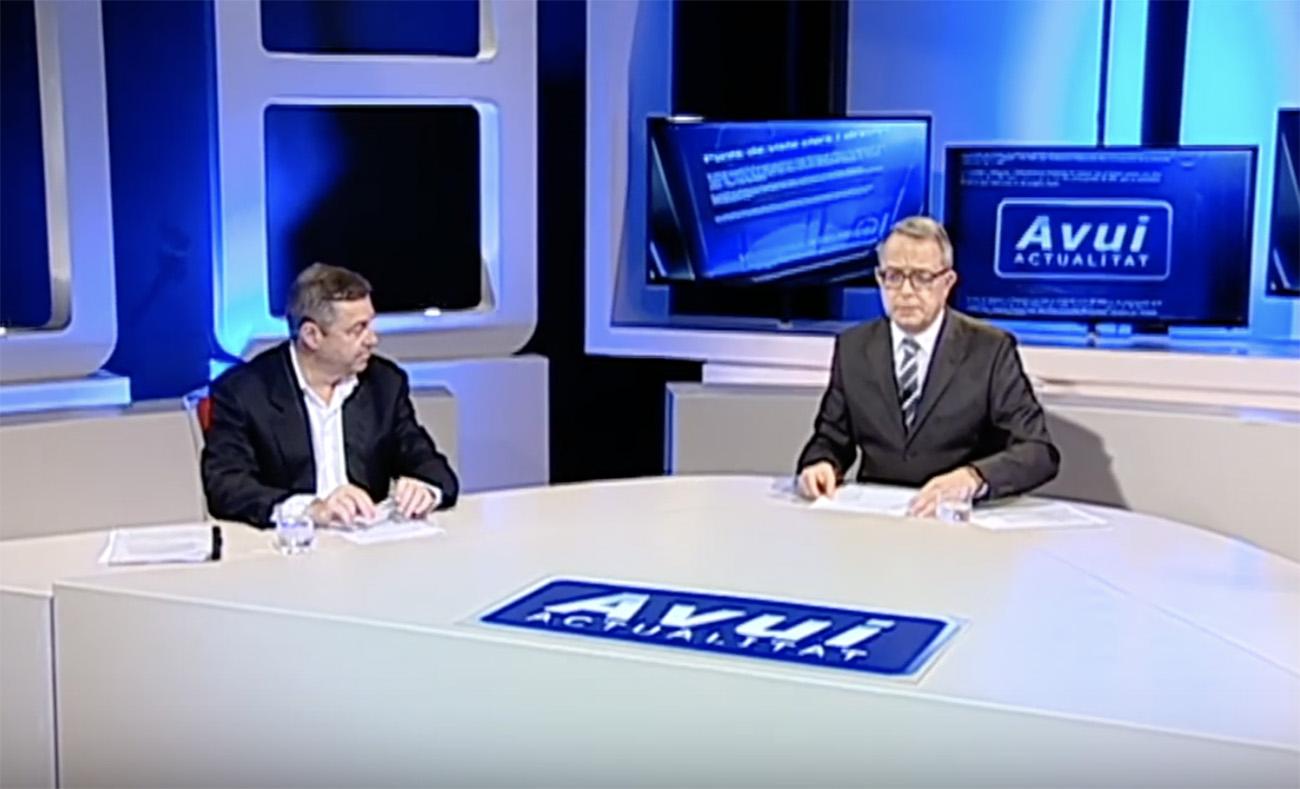 Javier Blas, en Canal 4 Tv entrevistado sobre el Brexit y sus consecuencias