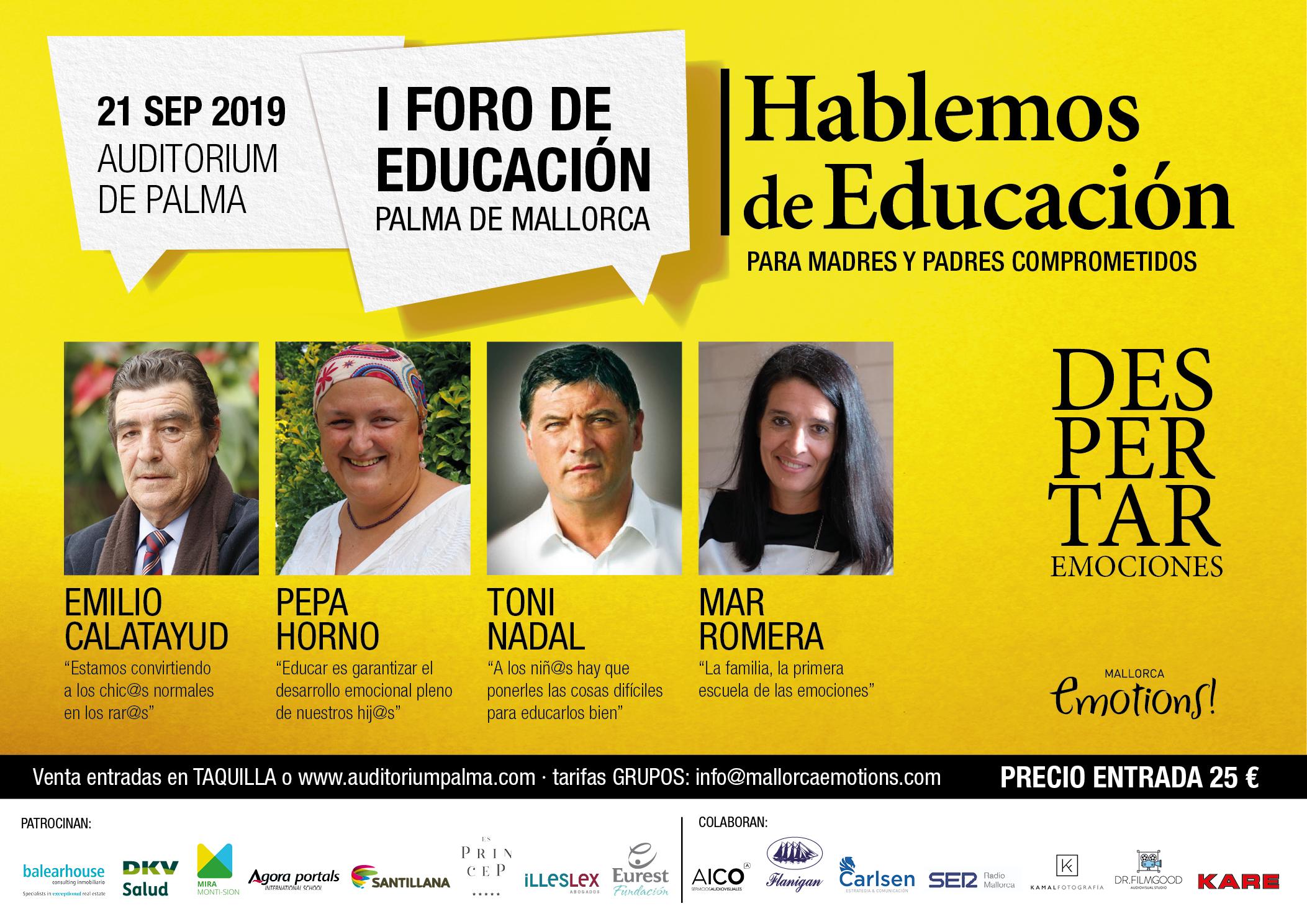 """Illeslex Abogados patrocina la primera edición del foro """"Hablemos de Educación"""""""