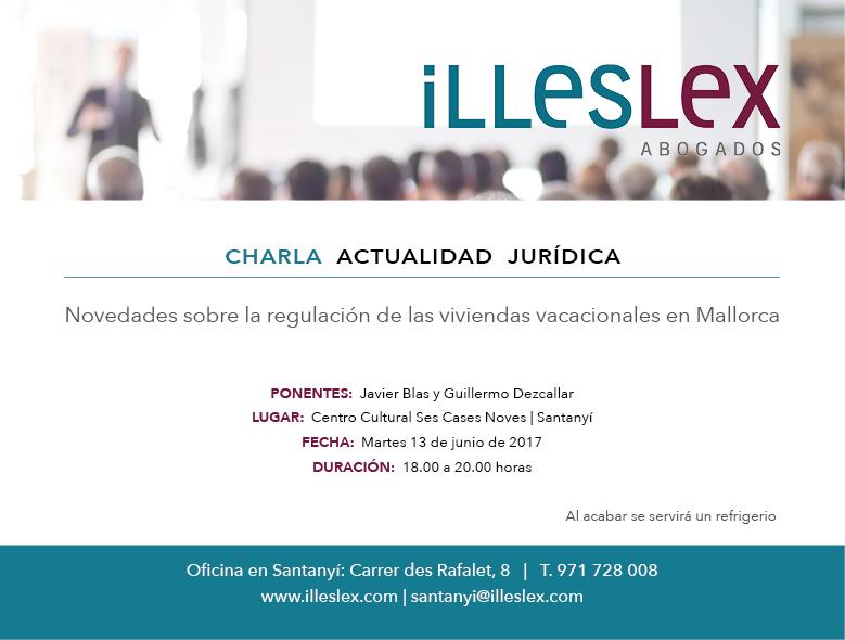 Charla actualidad jurídica en Santanyí