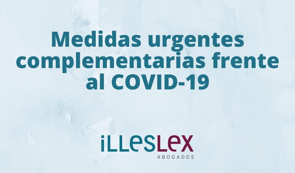 Aspectos laborales y de Seguridad Social del RDL 11/2020, de 31 de marzo, por el que se adoptan medidas urgentes complementarias en el ámbito social y económico para hacer frente al COVID-19