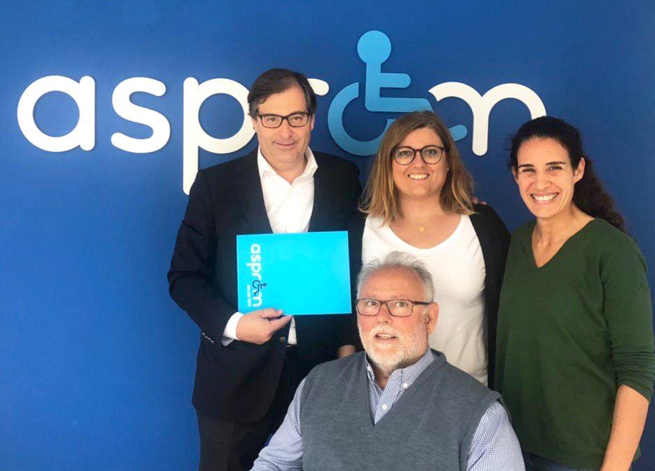 Illeslex abogados y Asprom firman un convenio de colaboración