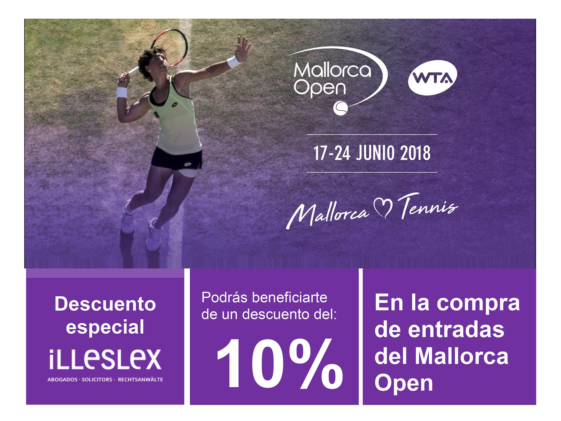 Illeslex, asesor legal del WTA Mallorca Open
