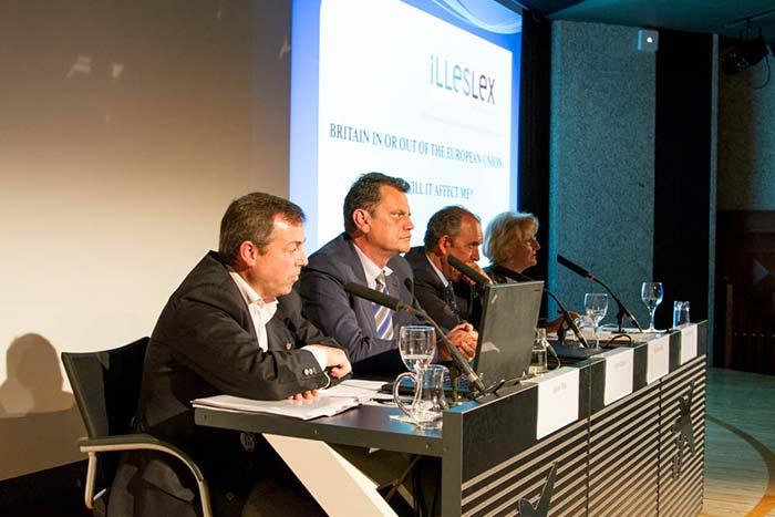 Evento de EPORE en La Caixa Forum, con ILLESLEX y DAILY BULLETIN.