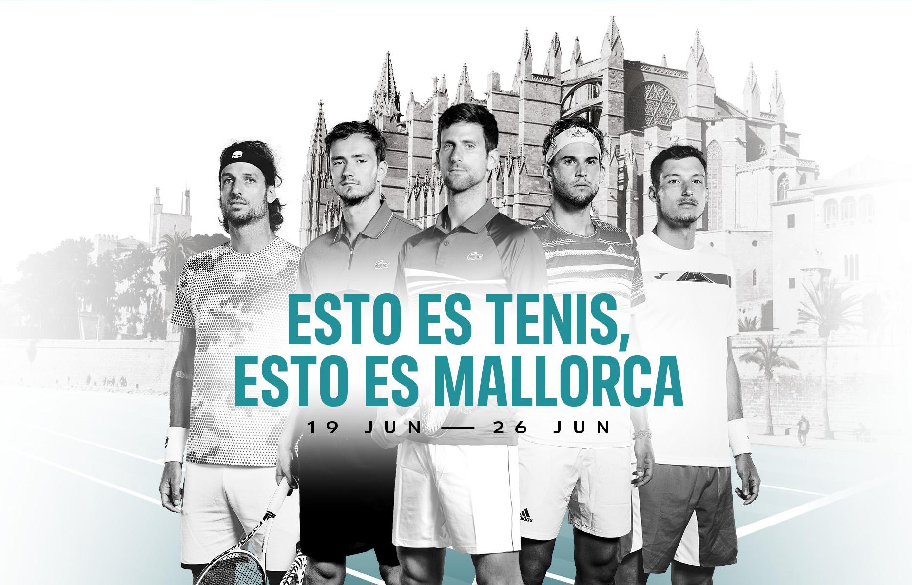 Todo a punto para la celebración del Mallorca Championships